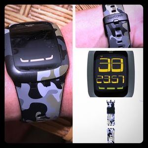 Swatch Touch Camo Digital watch. AWESOME WATCH!!!!